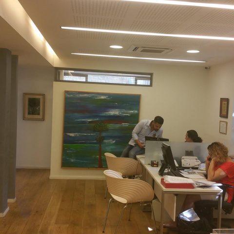 שיפוץ משרדים של סוכנות ביטוח בירושלים