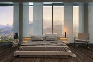 עיצוב חדר שינה רומנטי
